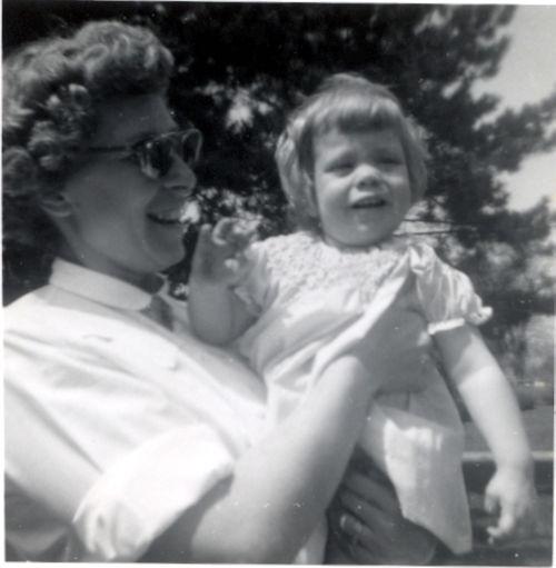 Helen with Baby Bee