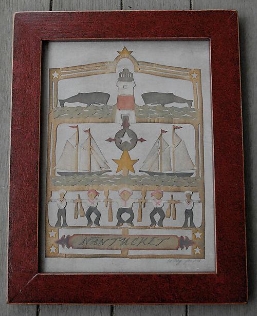 Classic Nantucket Scherensnitte